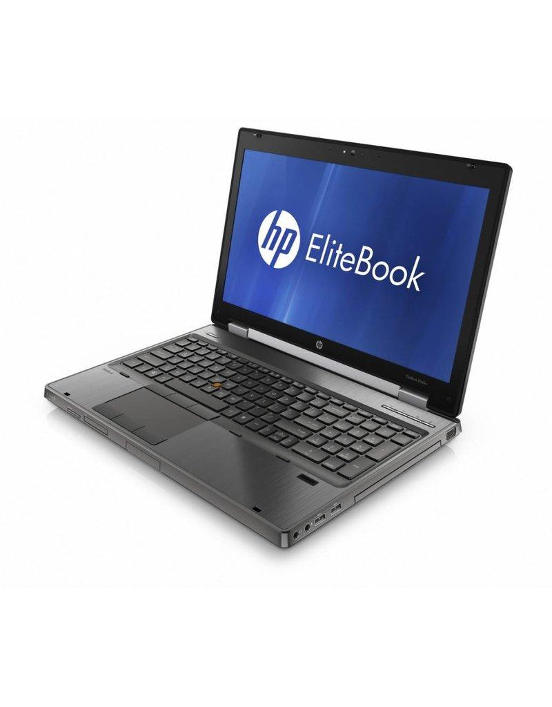 HP 8570W I7-3740QM/ 8GB/ 160GB SSD/ DVDRW/ W10/ FHD