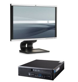 HP ELITEDESK 800 USDT CORE I5& 22 INCH MONITOR