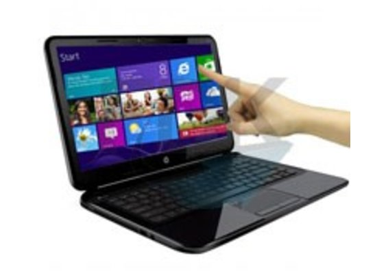 Touch laptops