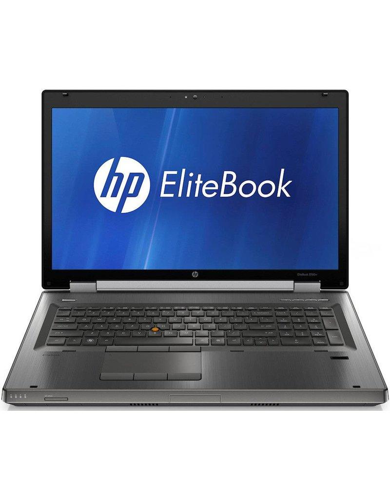 HP 8760W I7-2630QM/ 8GB/ 240GB + 750GB/ 17 INCH/ W10
