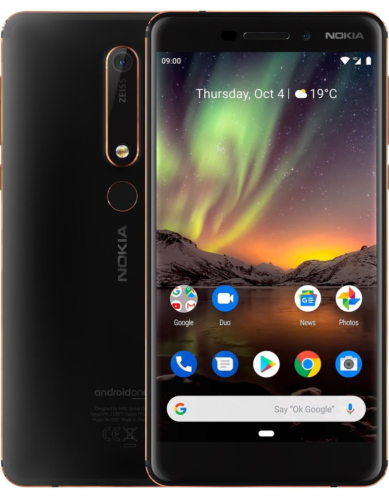 NOKIA 6.1 DUAL-SIM 32GB BLACK