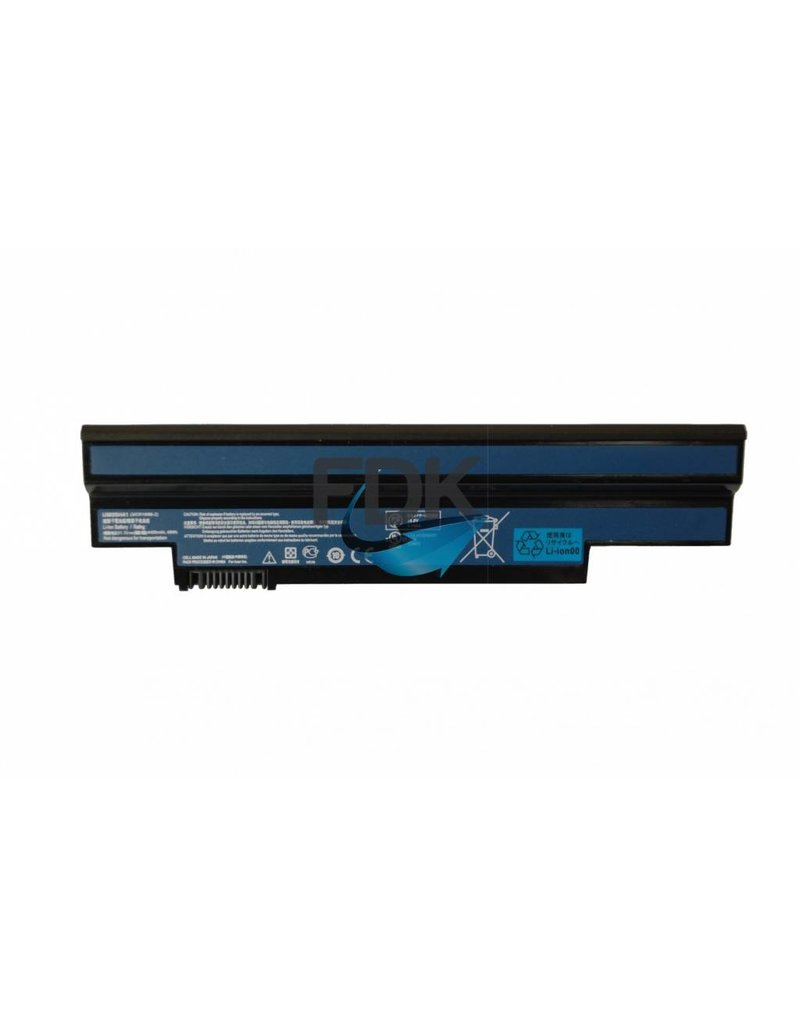 ACER Aspire One 532h/533 Accu 10.8v 5200mAh (zwart)