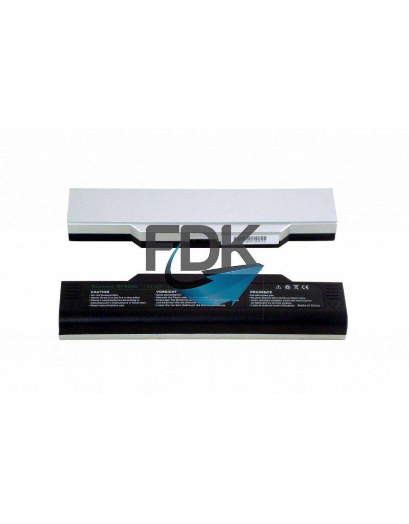 Packard Bell /Fujtisu Siemens/Medion Accu 10.8V 5200mAh (zwart)