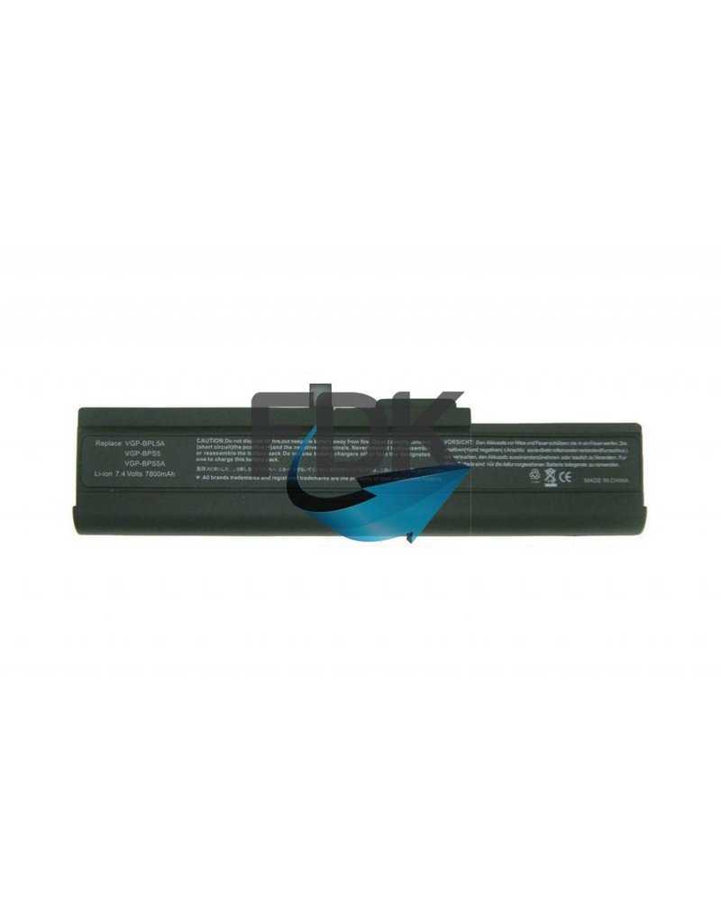 SONY Vaio VGN-TX series accu 7.4V 7800mAh