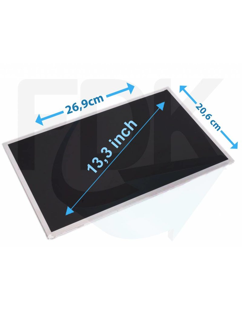 "Laptop LCD Scherm 13,3"" 1280x800 WXGA Glossy Widescreen (LED)"