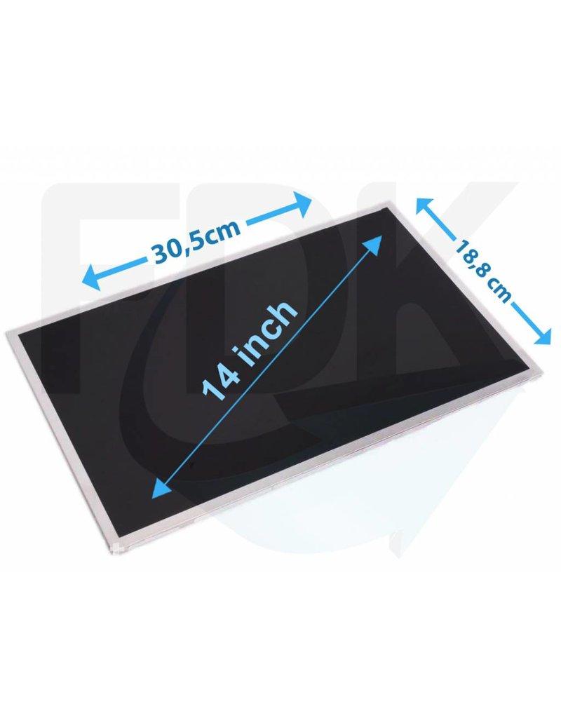 "LCD Scherm 14"" 1366x768 WXGA HD Glossy Widescreen (LED) (Slimlin"