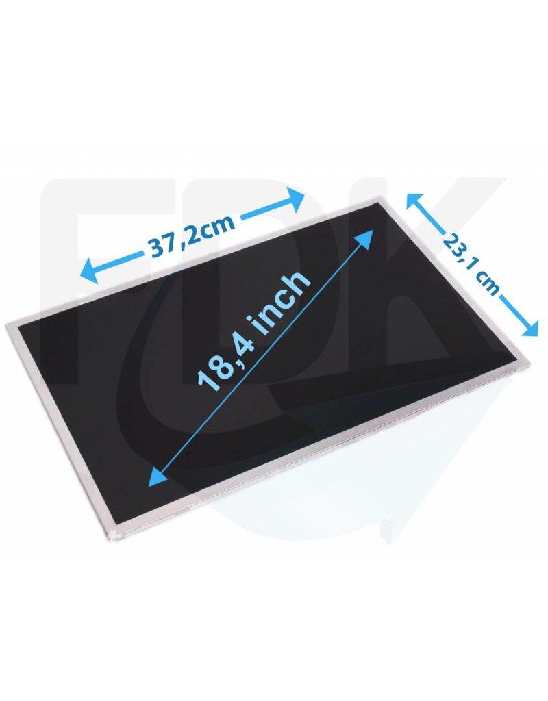 "Laptop LCD Scherm 18,4"" 1920x1080 WUXGA Glossy Widescreen (2bulb"
