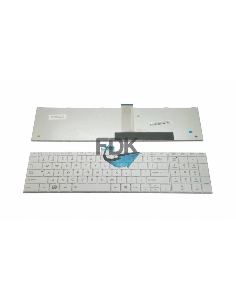 TOSHIBA Satellite C660/ C870/ C875 US keyboard (wit)