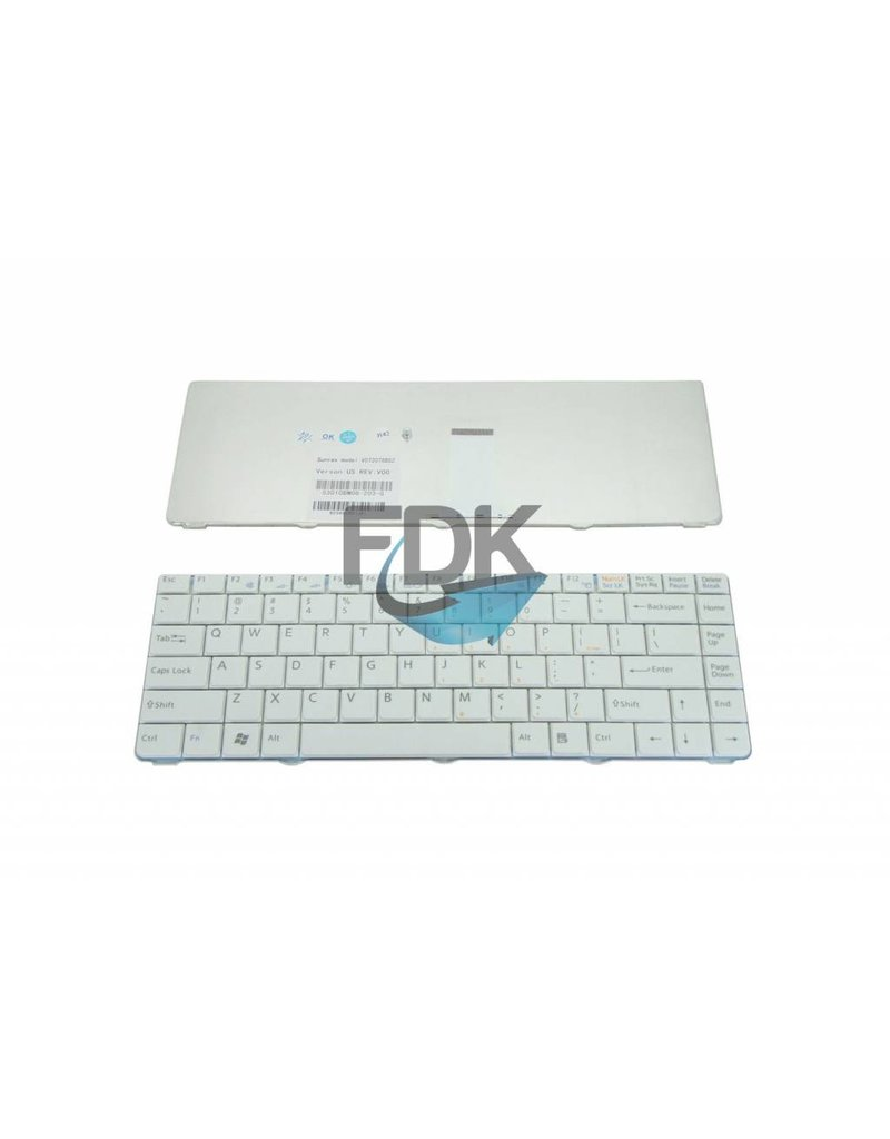 SONY Vaio VGN-NR/ VGN-NS series US keyboard (wit)