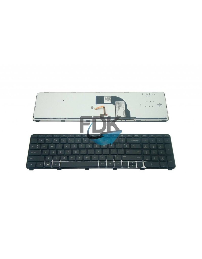 HP DV7-7000 series US backlit keyboard