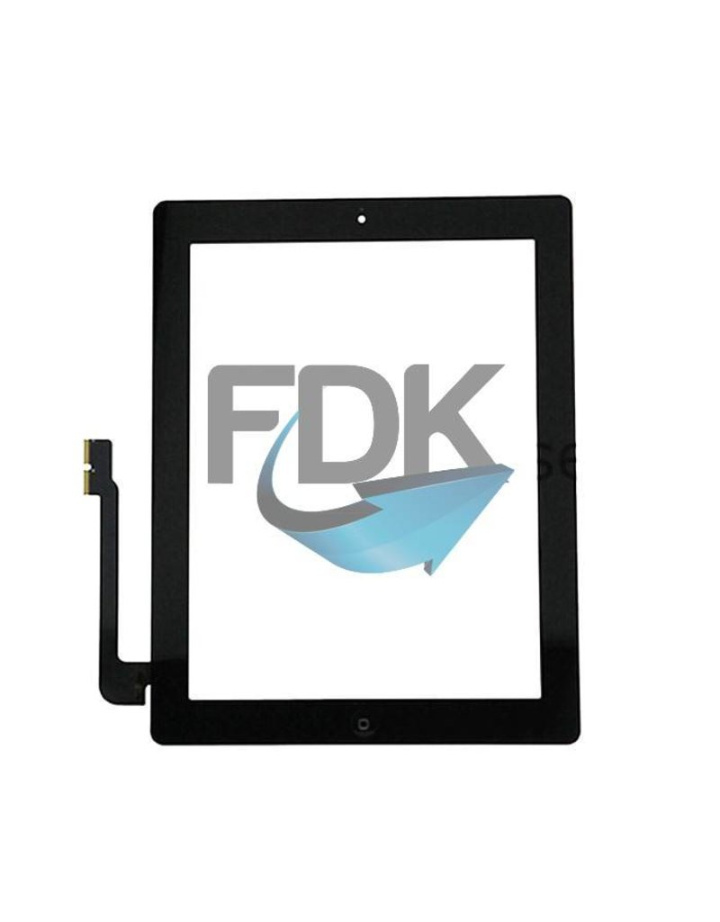 APPLE iPad 3 Digitizer Assembly (zwart)