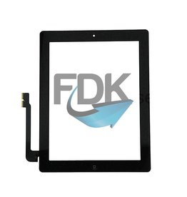 APPLE iPad 4 Digitizer Assembly (zwart)