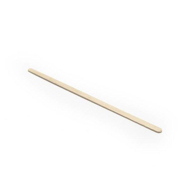 Harsgroothandel.nl Wooden eyebrow spatulas- 100 pcs