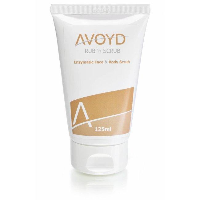 Avoyd Avoyd Rub 'n Scrub Face & Body Scrub 125 ml