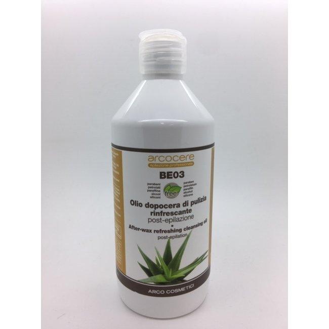 After-wax Refresing Cleansing Oil met Aloe Vera