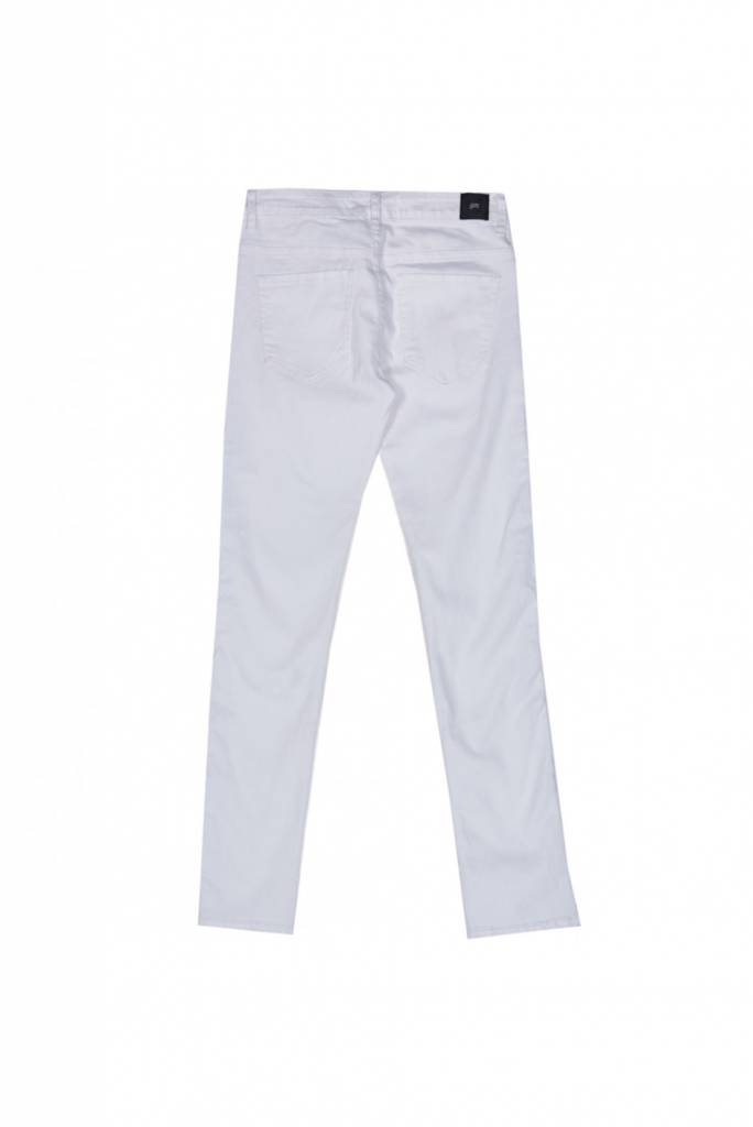 Sixth June White Jeans With Stripe
