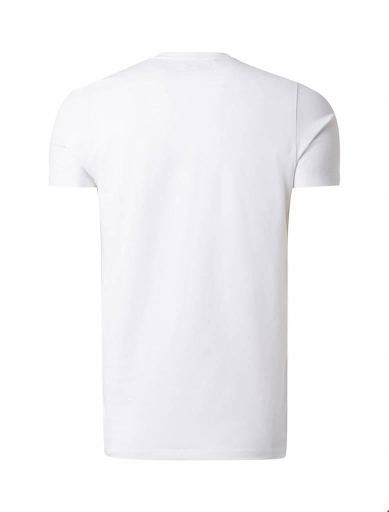 Purewhite Purewhite Essential Basic V-neck