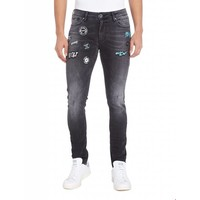 Purewhite Powerflex Jeans With Patches