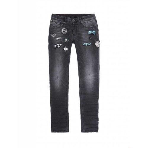 Purewhite Purewhite Powerflex Jeans With Patches