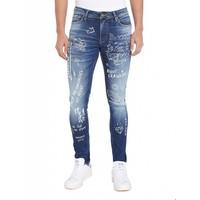 Purewhite Powerflex Designed Jeans