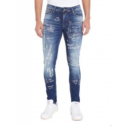 Purewhite Purewhite Powerflex Designed Jeans