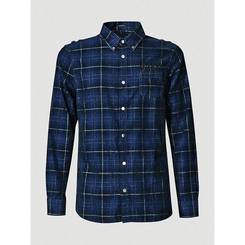 Guess Guess Macro Check Corduroy Shirt