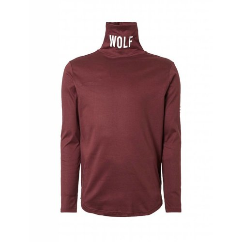 Purewhite Purewhite Wolf Turtleneck Long Sleeve Tee