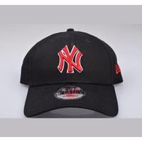 New Era Black / Red Cap