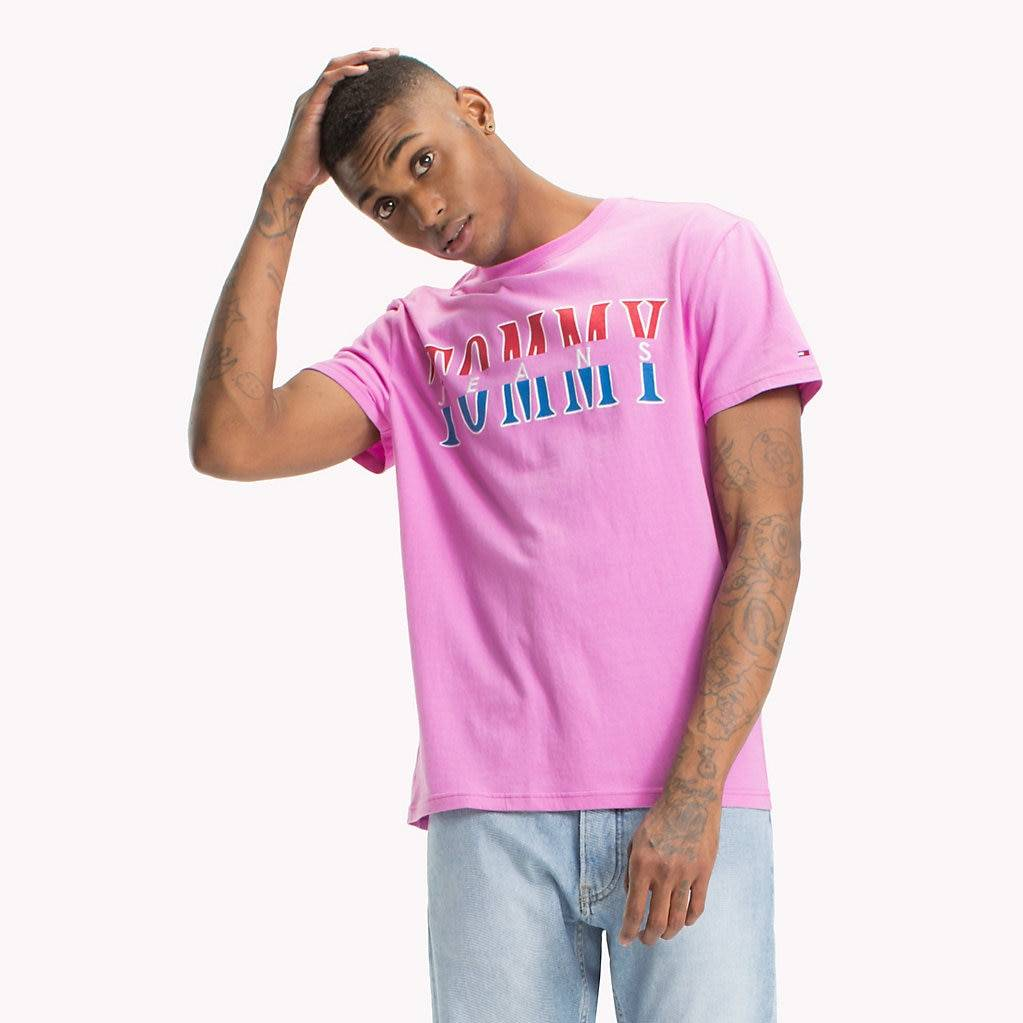Tommy Jeans Tommy Jeans  Spit Logo Tee