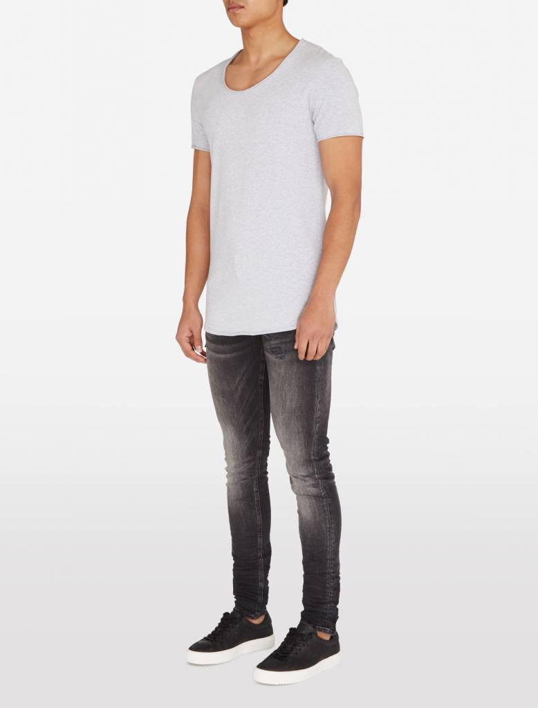 Purewhite Purewhite Long fit Basic Grey