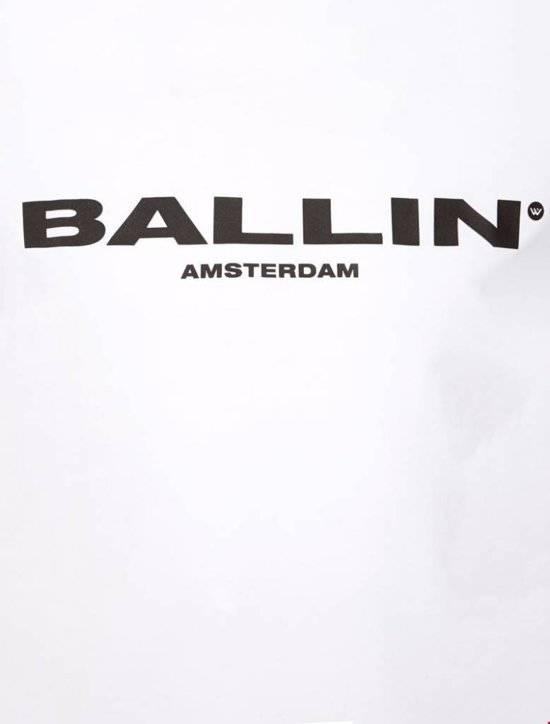 Ballin Amsterdam Ballin Amsterdam T-shirt Wit