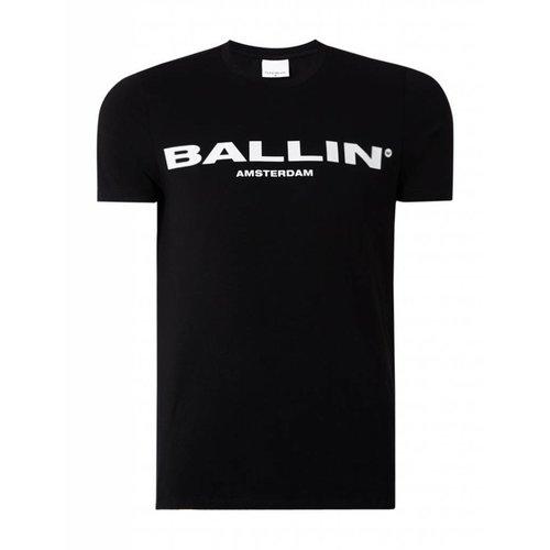 Ballin Amsterdam Ballin Amsterdam T-shirt Zwart