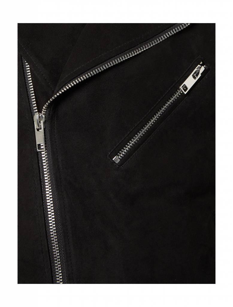 Purewhite Purewhite Suede Jacket