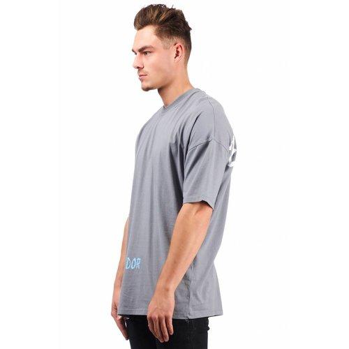 Pegador Pegador Grafite Oversized T-shirt