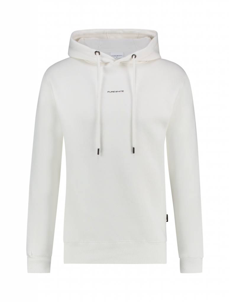 Purewhite Purewhite Logo Hoodie