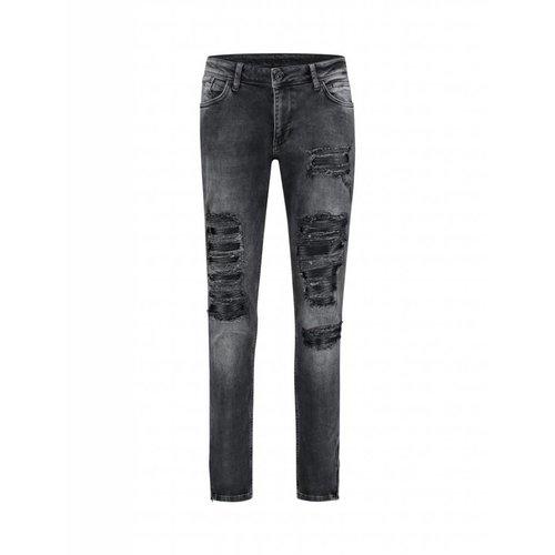 Purewhite Purewhite Ripped Jeans Black