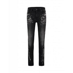Purewhite Purewhite Painted Jeans Black