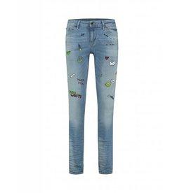 Purewhite Purewhite Printed Artworks Jeans