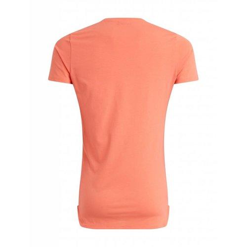 Purewhite Purewhite Fire T-shirt Coral