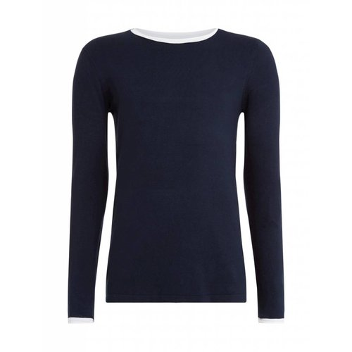 Purewhite Purewhite Knitted Double Layer Longsleeve