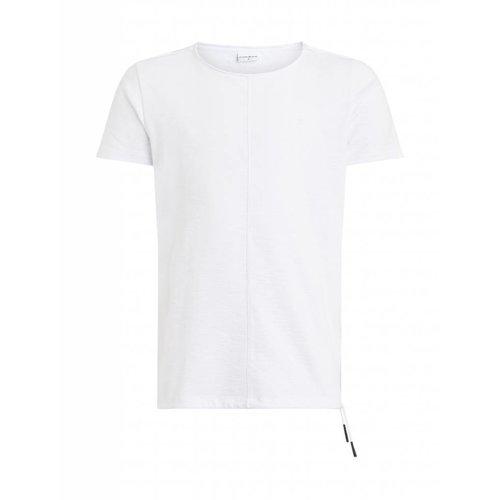 Purewhite Purewhite Ribbed Cords T-shirt White