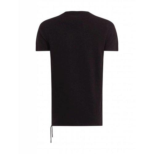 Purewhite Purewhite Ribbed Cords T-shirt Black
