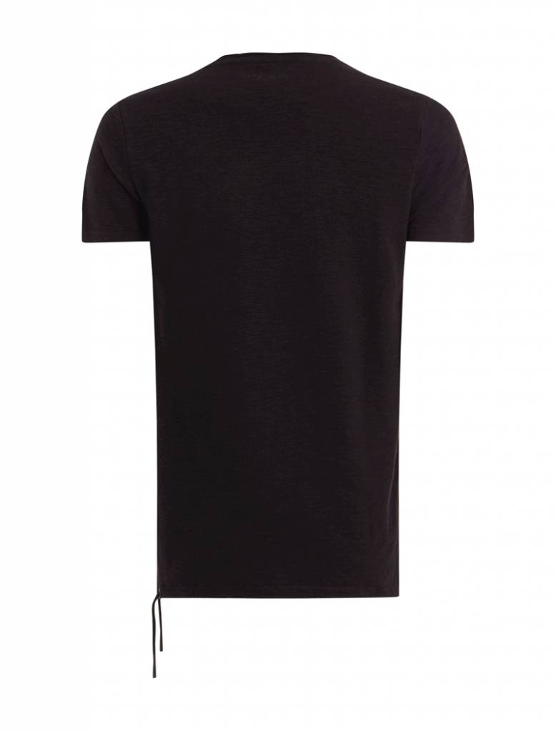 Purewhite Purewhite Ribbed Cords T-shirt Black