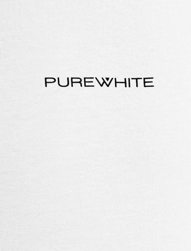 Purewhite Purewhite Logo Tee White