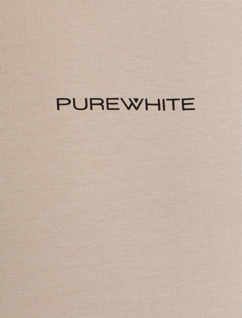 Purewhite Purewhite Logo Tee Sand