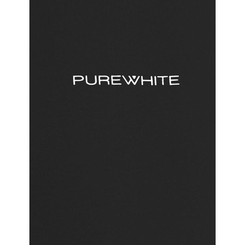 Purewhite Purewhite Logo Tee Black