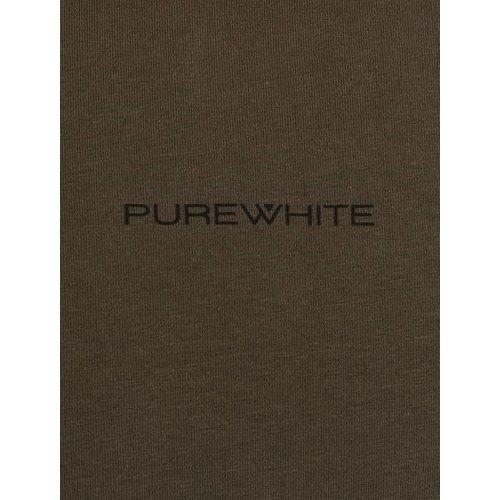Purewhite Purewhite Logo Tee Army