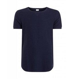Purewhite Purewhite Ribbed T-shirt Navy