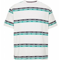 Tommy Jeans Signature Stripe Logo Tee