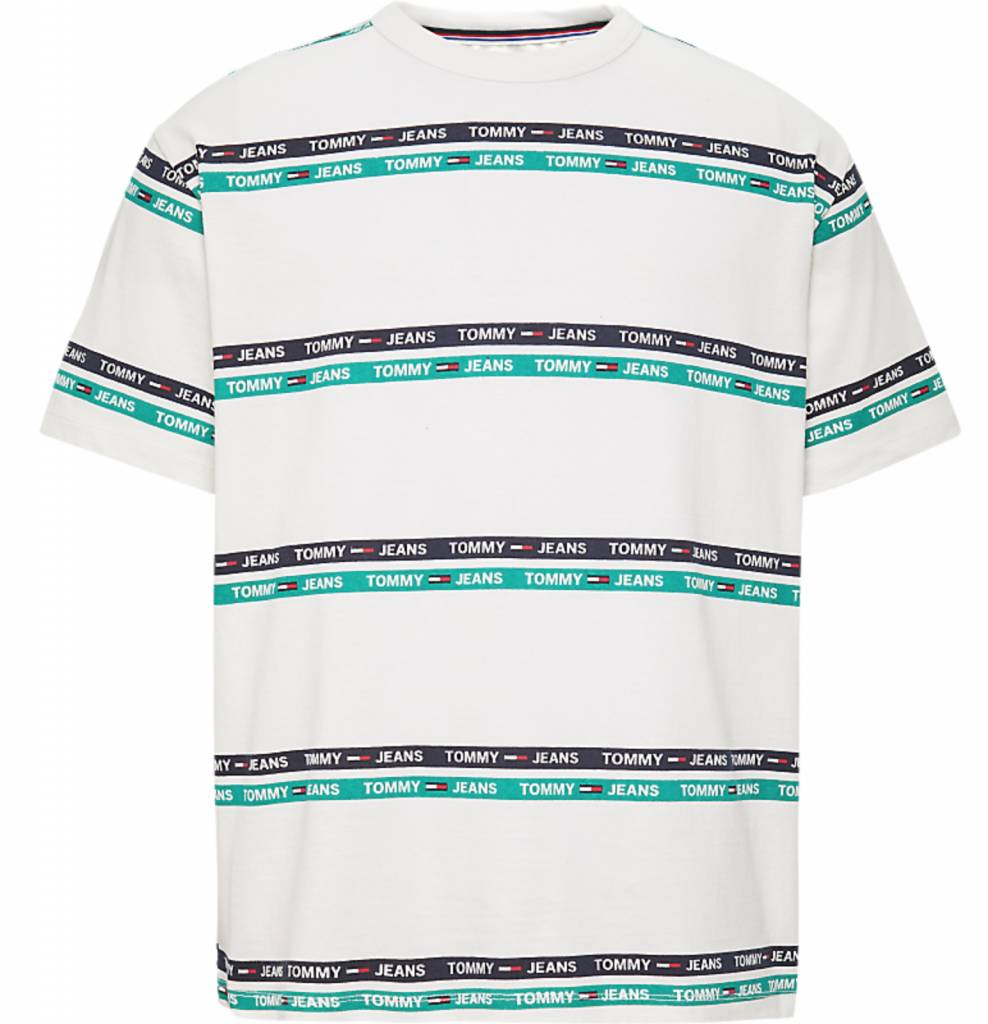 Tommy Jeans Tommy Jeans Signature Stripe Logo Tee